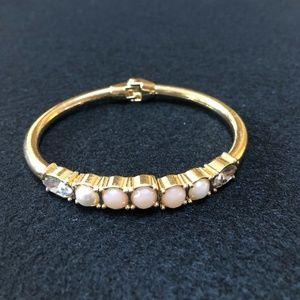 Gold-Tone Stone & Crystal Bangle Bracelets 56